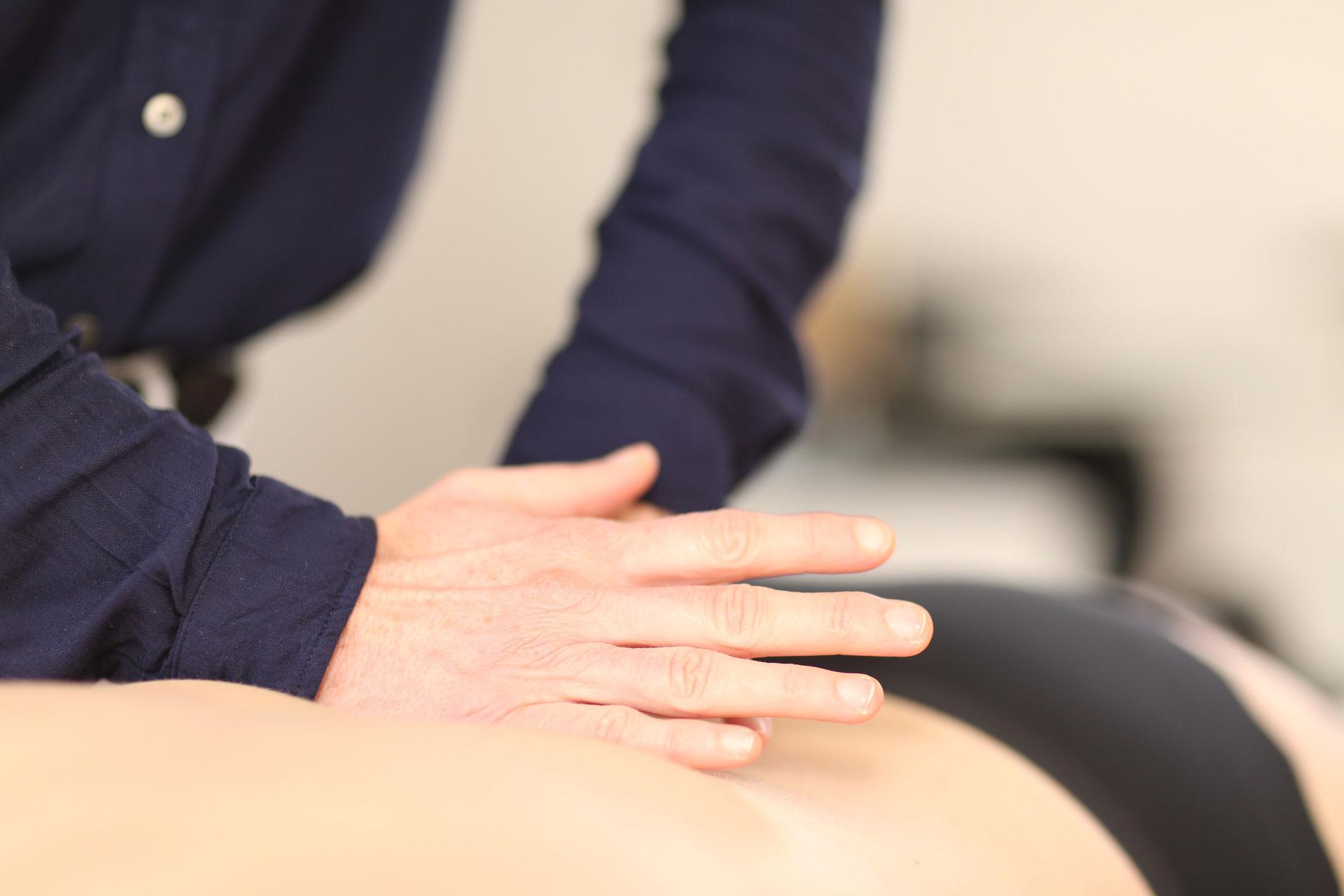 Wirkung einer Osteopathie Behandlung